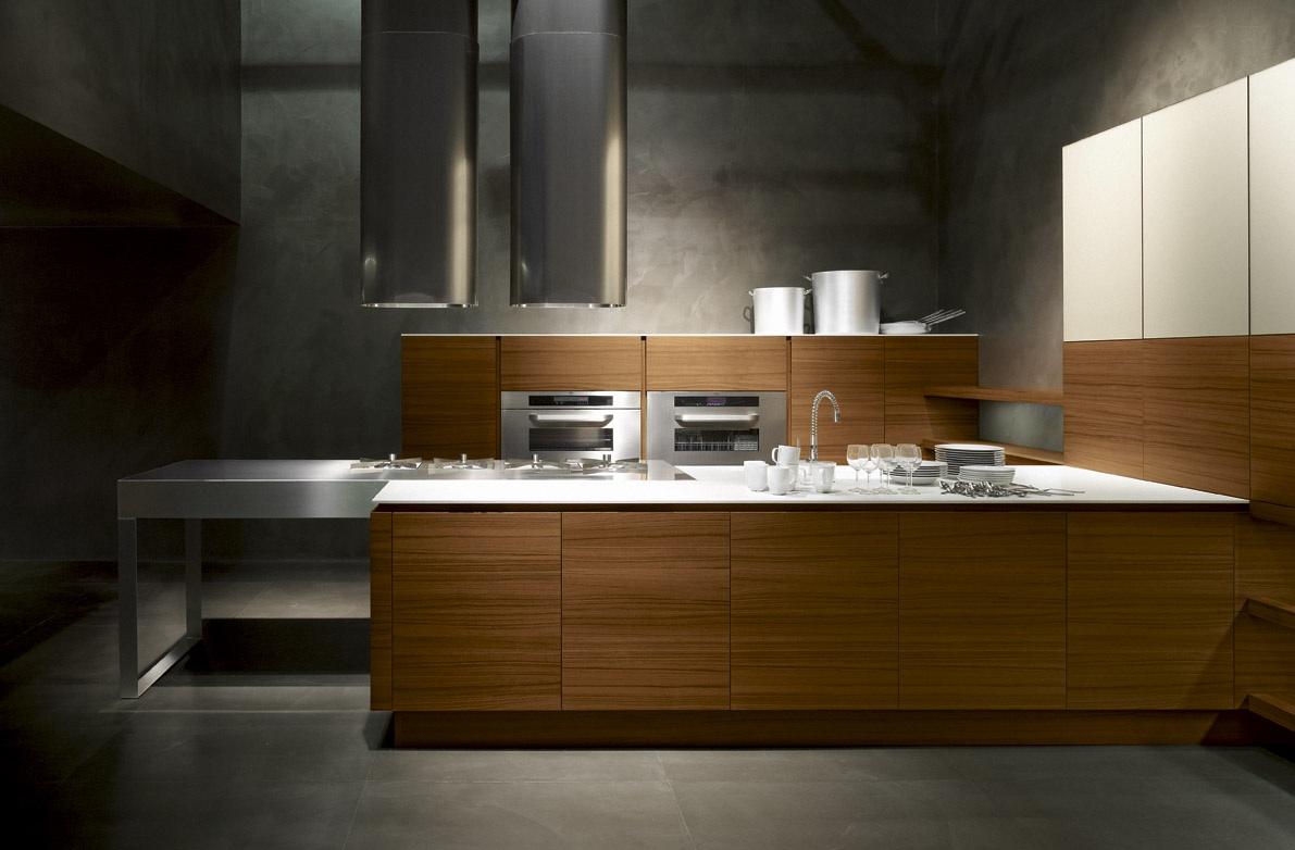 Fabricant Italien De Cuisine cuisine modèle yara en bois mat et aspect scié - euro cuisine